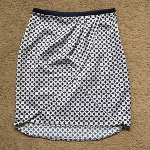 H&M crossover wrap skirt